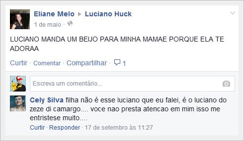 comentários huck 1
