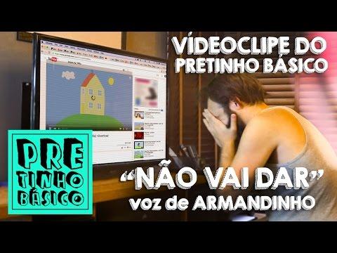 """CLIPE """"NÃO VAI CONECTAR"""" (paródia de Como uma Onda). Participação de Armandinho"""
