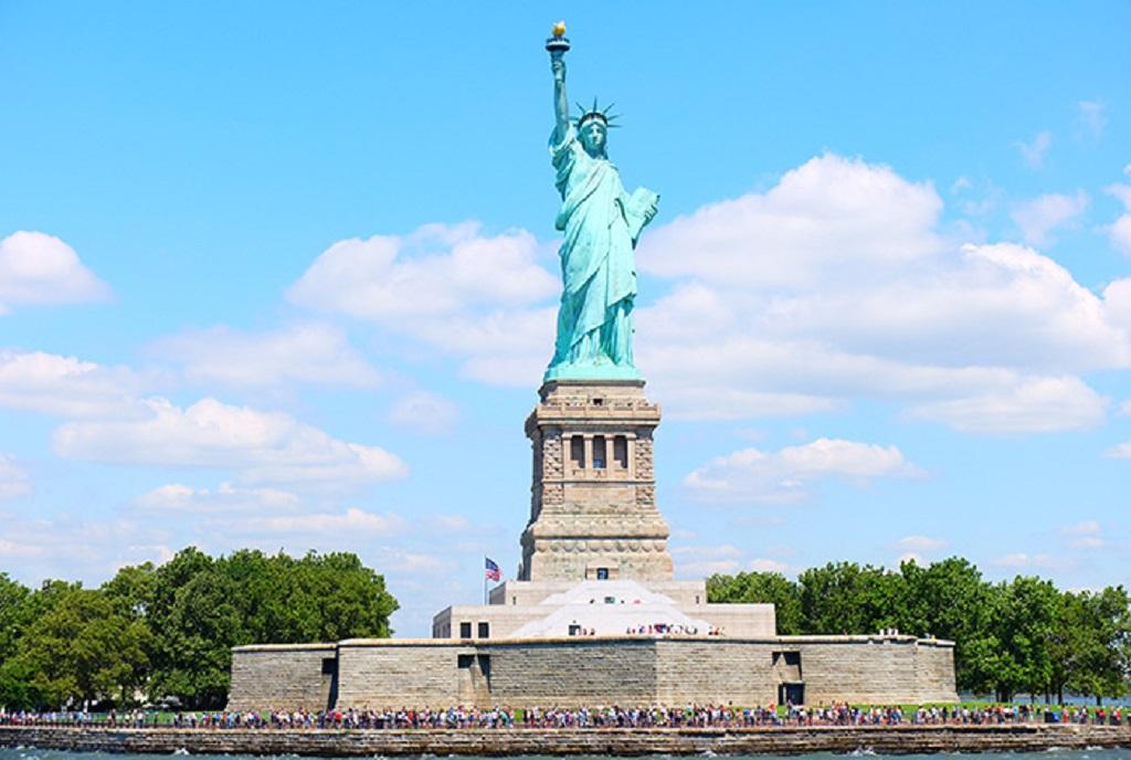 Da estátua da liberdade: