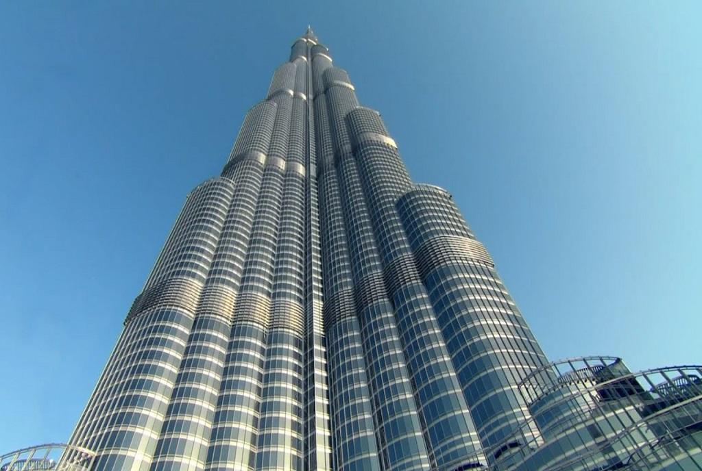 Do maior edifício do mundo :