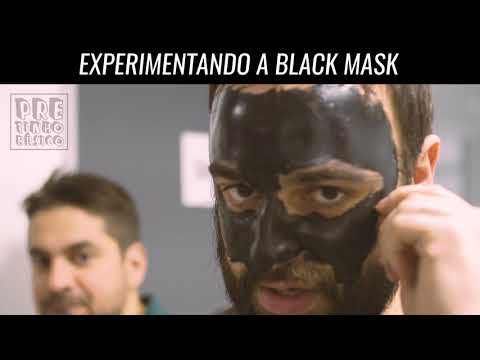 EXPERIMENTANDO A BLACK MASK!!