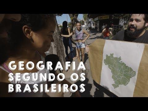 GEOGRAFIA SEGUNDO OS BRASILEIROS!