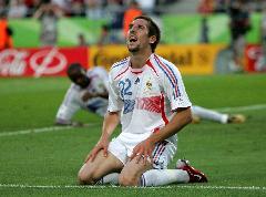 Ribery comemora vitória francesa/Carmen Jaspersen/EFE