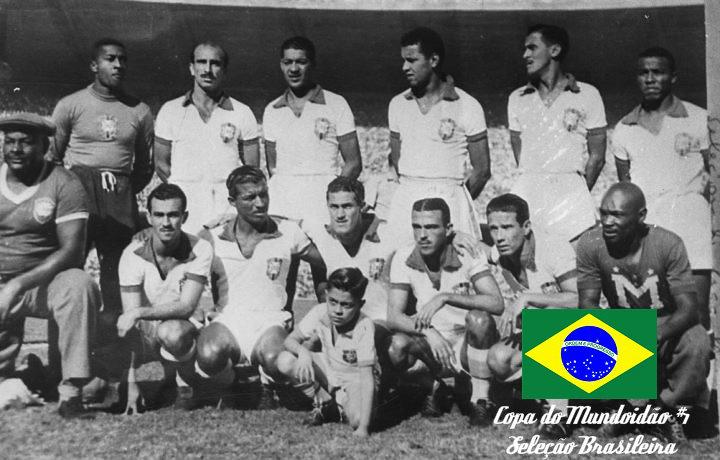 Camiseta branca da Seleção Brasileira