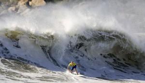 Mick Fanning nas ondas de Imbituba