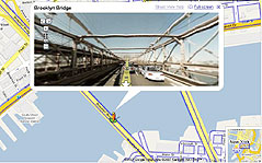 Street View oferece passeio em 360º/Reprodução/Google Maps