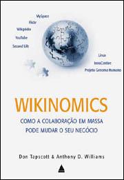 Edição brasileira de Wikinomics/Reprodução