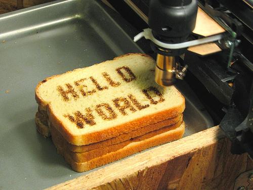 Hello, world numa versão mais saborosa no Flickr/Reprodução