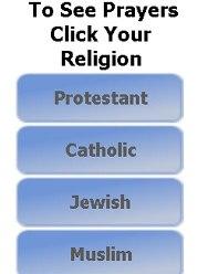 Usuário seleciona sua crença