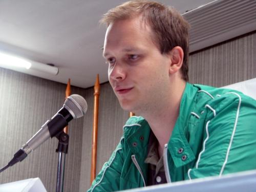 Peter Sunde esteve no Fórum Internacional Software Livre (fisl10), em Porto Alegre/Guilherme Neves