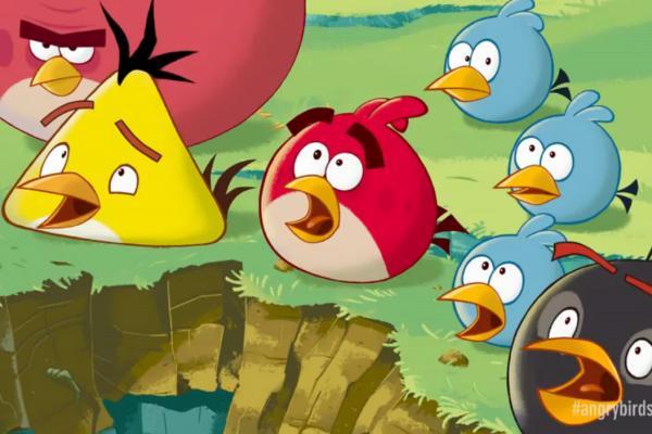 Como Desenhar O Pássaro Amarelo De Angry Birds Personagem: Game Angry Birds Vai Virar Desenho Animado No Segundo