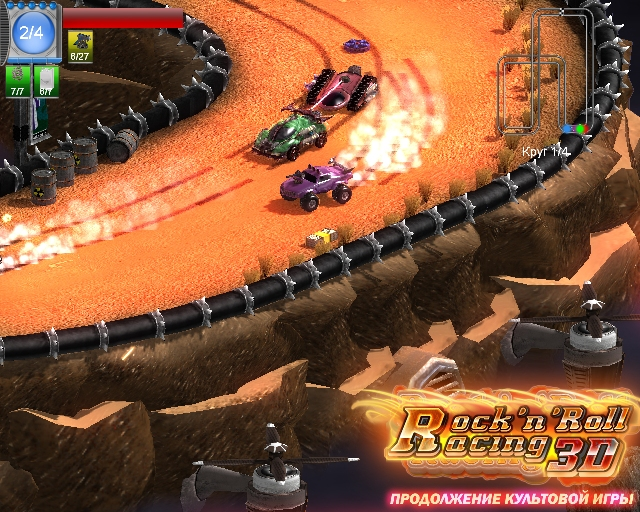 cl225ssico game de corrida rock n roll racing ganha vers227o