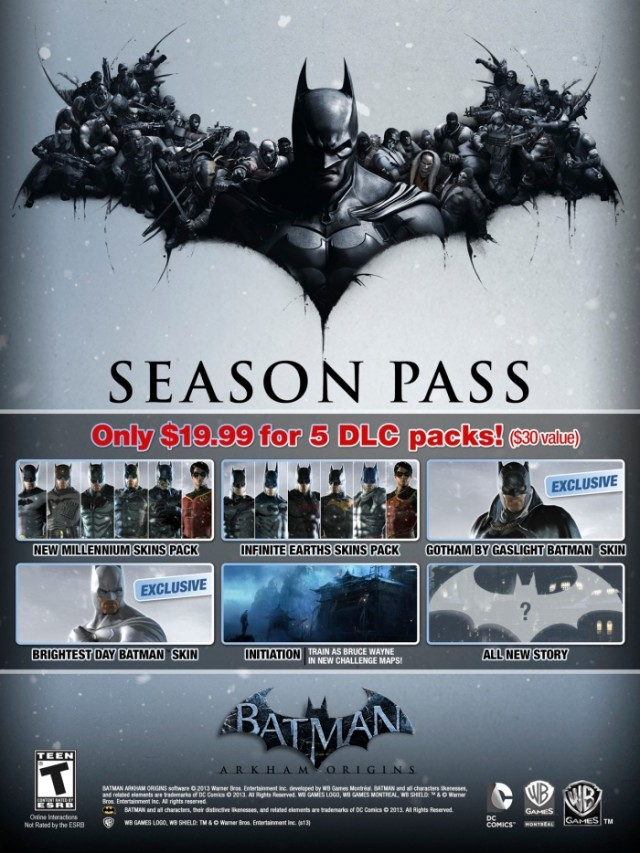 DLC Batman Arkham Origins