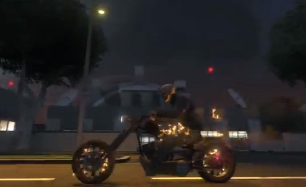 Como virar o Motoqueiro Fantasma no GTA V
