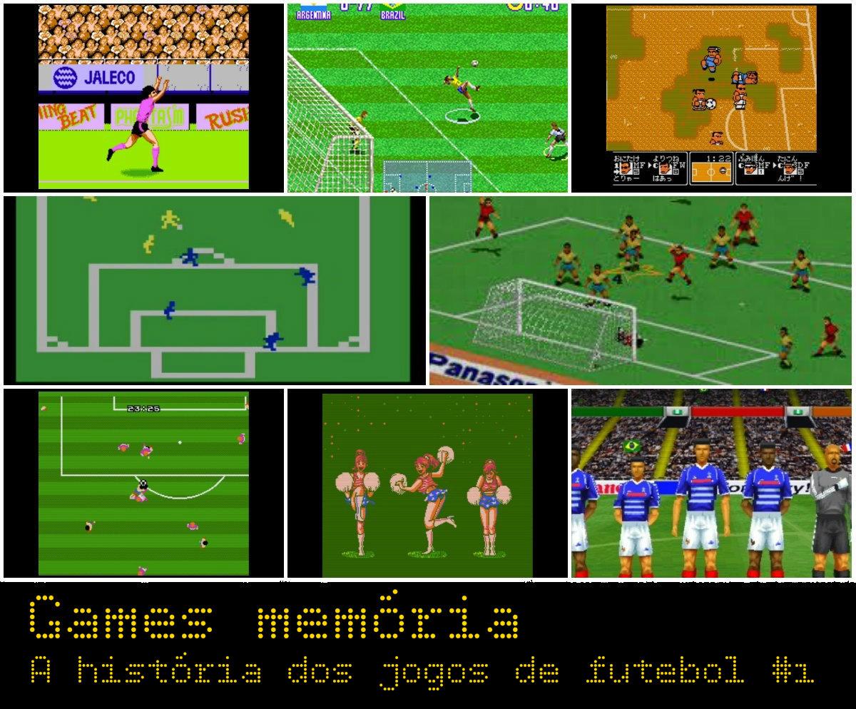 Games memória - jogos de futebol
