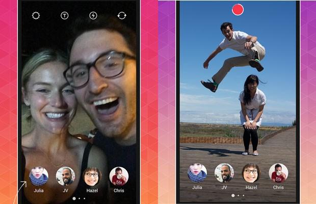 Bolt Instagram App aplicativo snapchat 1