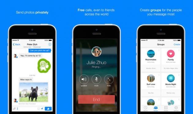 facebook messenger app mobile