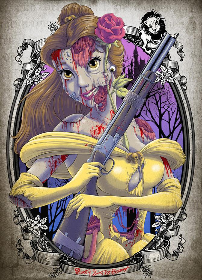 Princesas-Disney-como-zumbis-21
