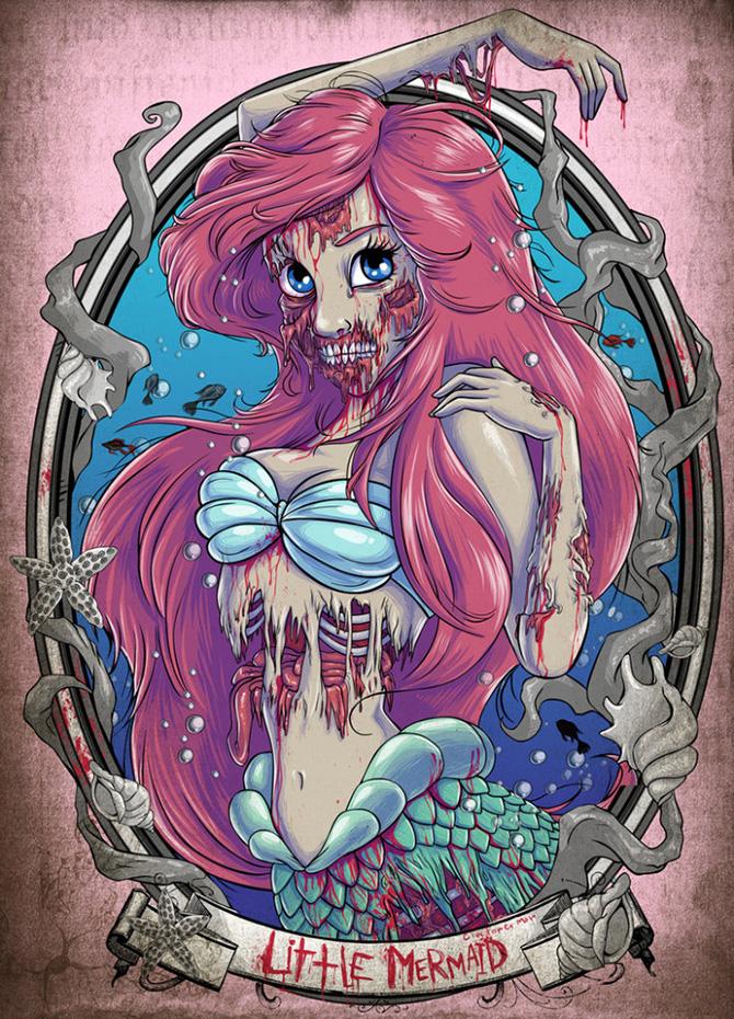 Princesas-Disney-como-zumbis-41