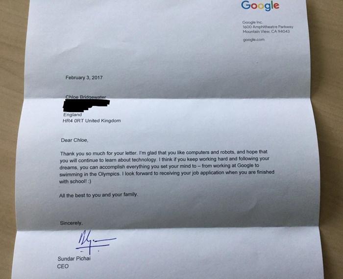 carta da google