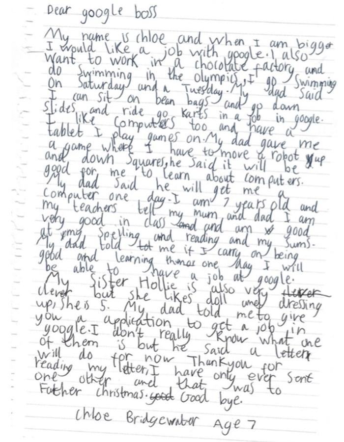 carta de chloe