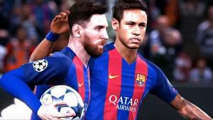 PES 2018 Neymar Messi