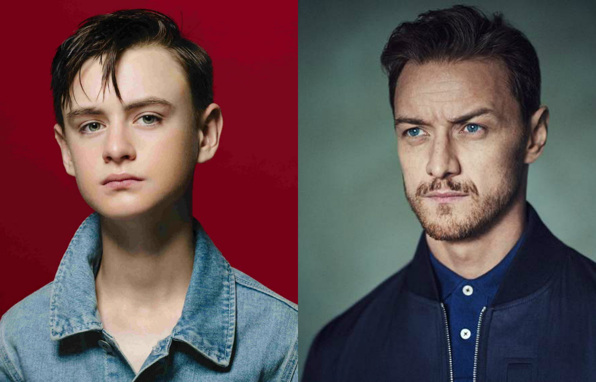 It a coisa captulo 2 compare os atores mirins com o elenco 1 james mcavoy bill denbrough fandeluxe Gallery