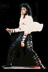 Michael Jackson e sua dança famosa