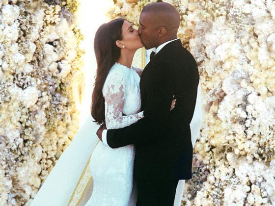 Foto: Kim Kardashian e Kanye West/reprodução