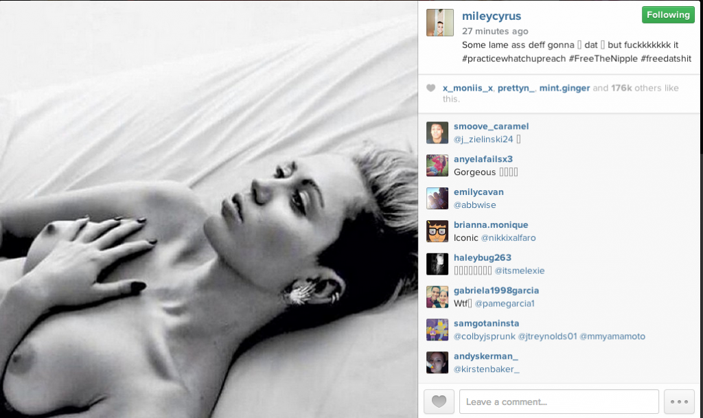 Miley/instagram