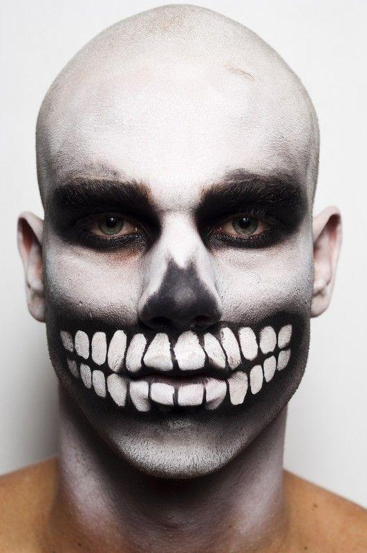 Excepcional Conta pra ele: 10 ideias de maquiagem masculina para o Halloween  RB28