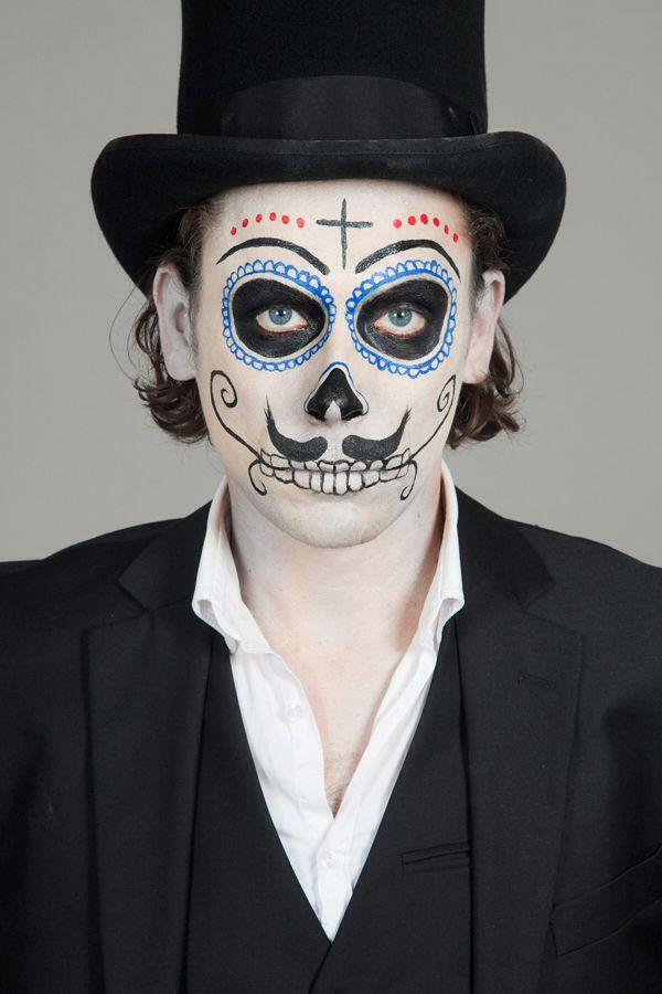 Muitas vezes Conta pra ele: 10 ideias de maquiagem masculina para o Halloween  XK55