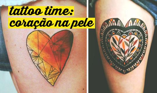 30 Tatuagens De Coração Diferentes Do Que Você Já Viu Atl Girls