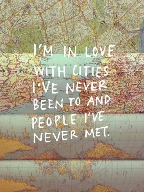 Quotes About Unknown Love Tumblr : Pe na estrada: 12 cartazes para te inspirar a ser um viajante ATL ...