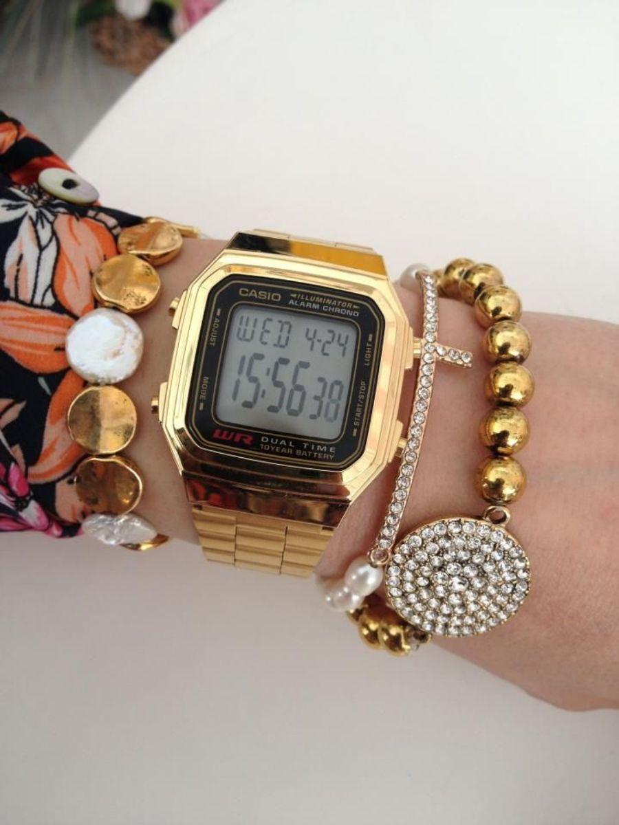 bb5e16aa119 Mix fashion  20 combinações com relógio Casio retrô - ATL Girls