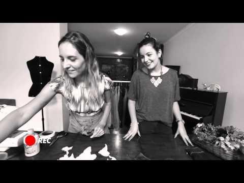 DIY ATL GIRLS: jaqueta jeans com estampa de mapa (sem costurar!)