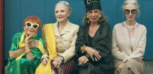 mulheres velhice corte