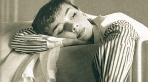mãe cansada