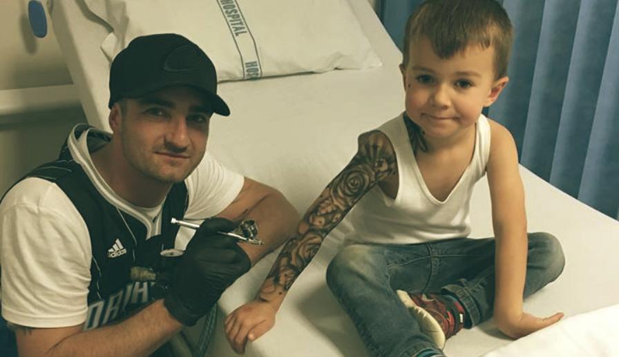 Resultado de imagem para tattoo criança