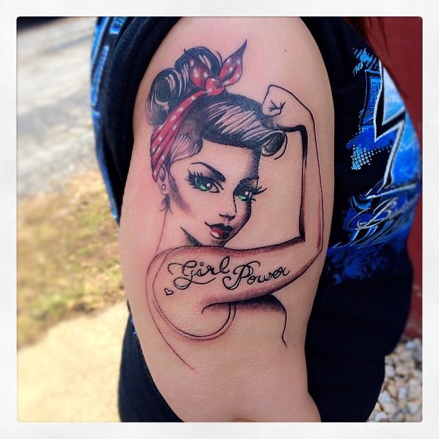 Tattoo Woman Power: 15 Tatuagens No Estilo GIRL POWER Para Inspirar E