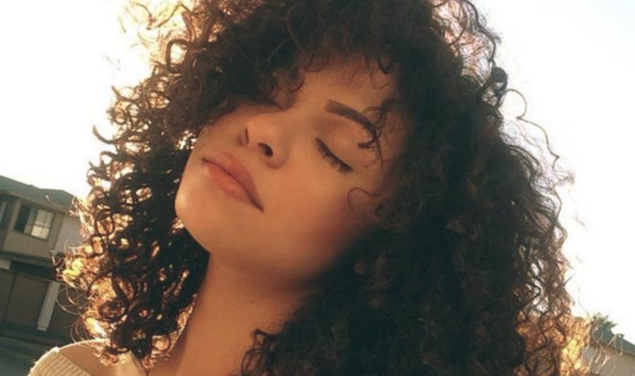 girl afro hair