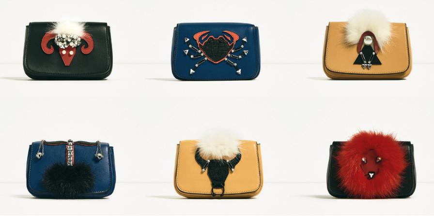 Bolsa De Festa Zara : Zara lan?a cole??o de bolsas festa para cada signo