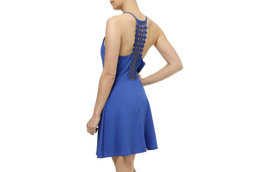 pompeia vestido azul costas