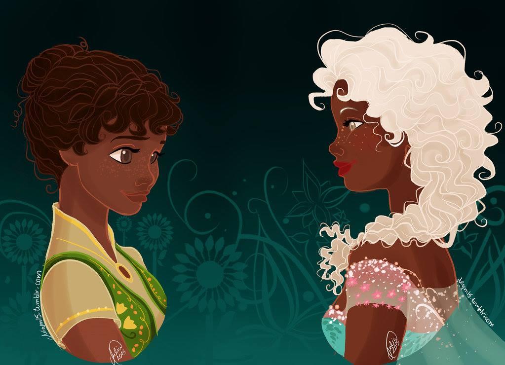 E Se As Princesas Fossem Negras Atl Girls