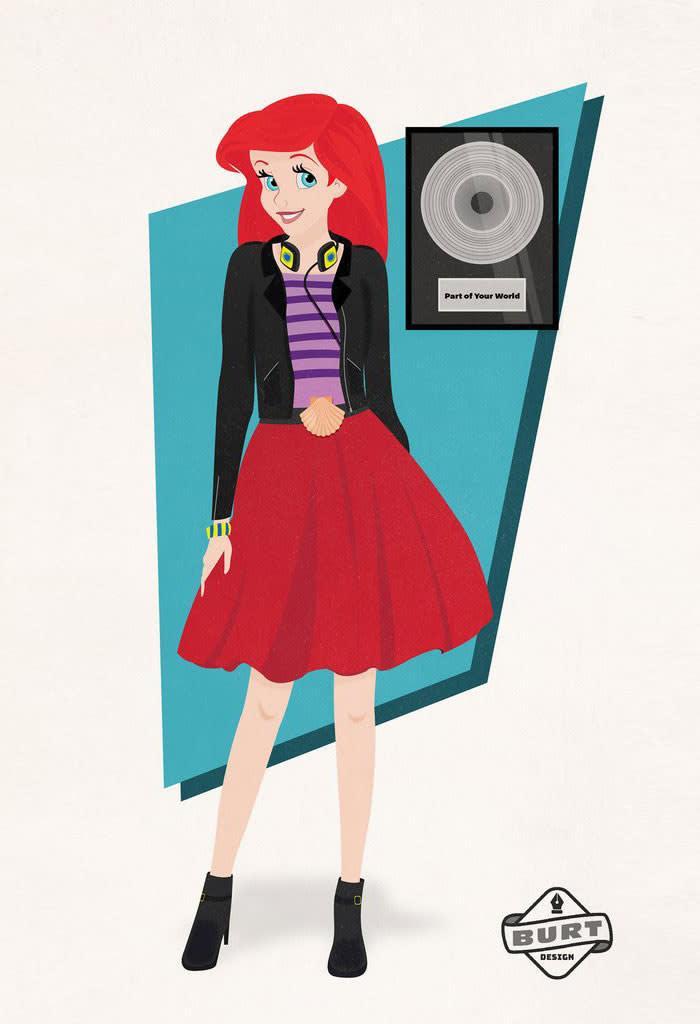 princesas-disney-carreira-a-pequena-sereia