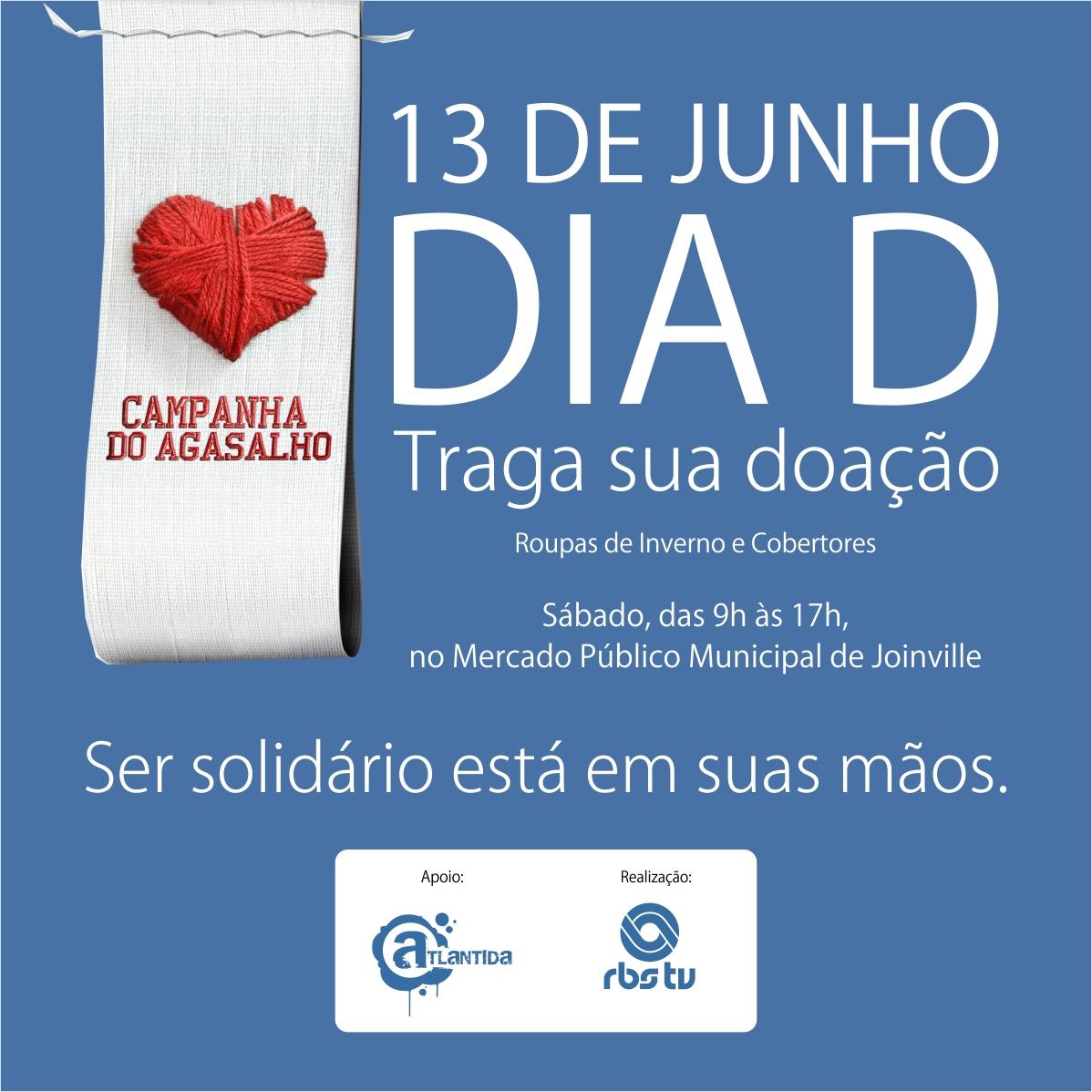 FACEBOOK Campanha do Agasalho JOINVILLE