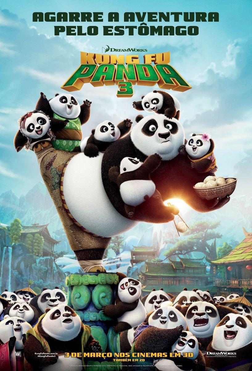 FOX - Pôster Kung Fu Panda 3