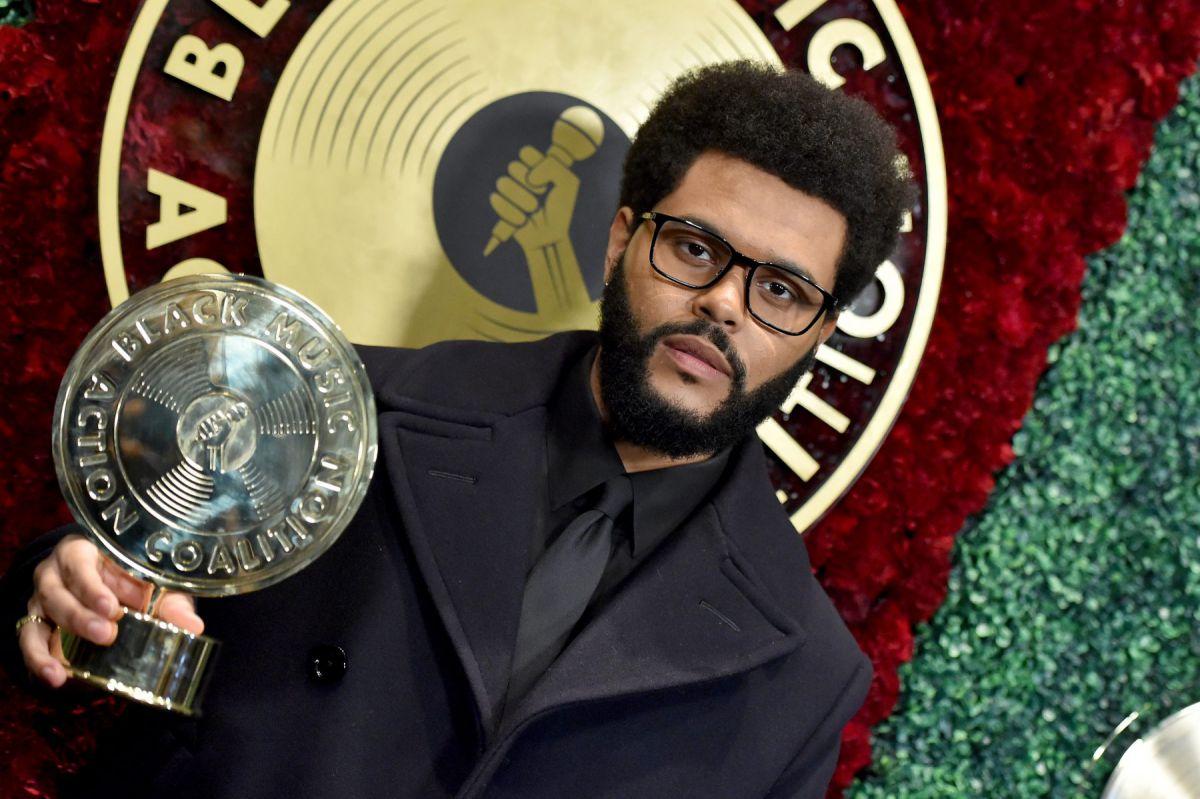 the weeknd Quincy Jones Humanitarian Award